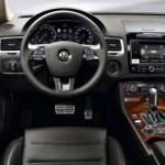 interiores del modelo híbrido del touareg de volkswagen