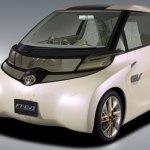 Toyota FT-EV II imagen frontal