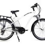 Ecobike Adventure, bicicleta electrica de color blanco