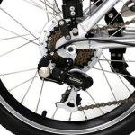 Imagen del cambio Shimano de la Ecobike Adventure