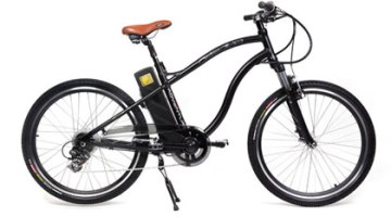 Ecobike Adventure, bicicleta electrica de color negro