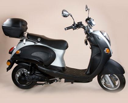imagen del scooter eléctrico de Econogo