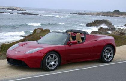 Tesla Roadster, coche eléctrico subvencionado por el plan Movele