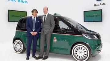 Taxis eléctricos de Volkswagen para Itália
