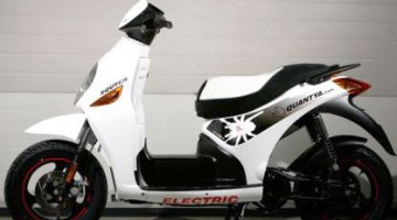 Quantya Squter P1, scooter eléctrico