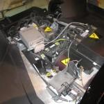 detalle del motor eléctrico del Tecnalia Dynacar