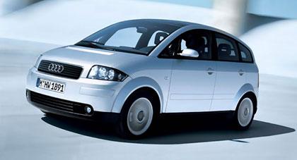 imagen del modelo A2 de Audi