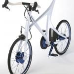 imagen desde encima de la Lexus Hybrid Bycycle Concept