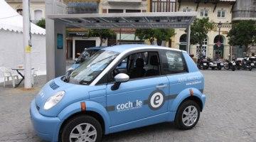Cochele, el primer servicio de car-sharing con coche eléctrico en Sevilla