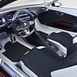 detalles interiores del Seat Ibe