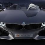 detalle del frontal agresivo del BMW Vision ConnectedDrive