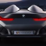 imagen trasera del BMW Vision ConnectedDrive