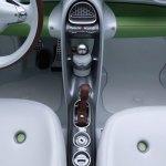 detalle de los mandos y los desagües del Smart Forspeed