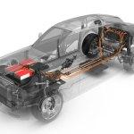 detalle transparente del vehículo Rolls-Royce 102EX, despieze