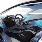 detalle del interior del Jaguar C-X75