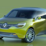imagen de la Renault FRENDZY de color verde