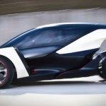 imagen donde podemos apreciar la aerodinámica del Opel Lightweight