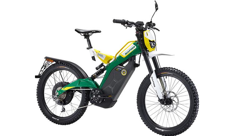 Imagen donde vemos el diseño y accesorios de la Bultaco Brinco modelo C.