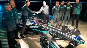 Jaguar se apunta a la Fórmula E con su I-Type
