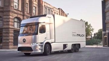Mercedes presenta su camión eléctrico, el Urban eTruck