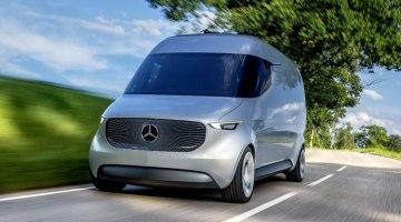Mercedes Vision Van, así ve el futuro del reparto de mercancías Mercedes-Benz