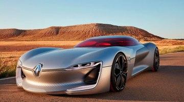 Renault Trezor Concept: el futuro superdeportivo eléctrico de Renault
