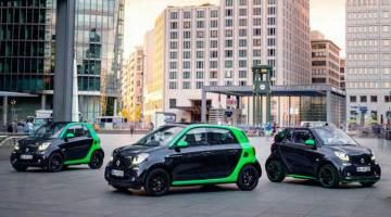 Smart presenta la cuarta generación de sus coches eléctricos ForTwo y ForFour