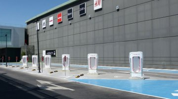 supercargador Tesla Murcia