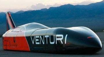 Venturi crea el vehículo eléctrico más rápido del mundo. Récord de 576 km/h