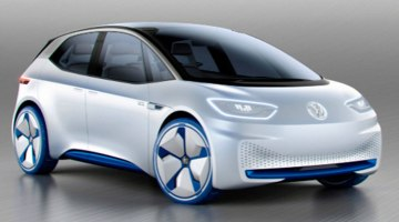 Volkswagen I.D. la apuesta eléctrica de Volkswagen, con hasta 600 km de autonomía.