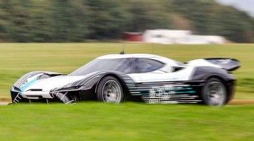 NextEV ha empezado las pruebas de su supercar eléctrico