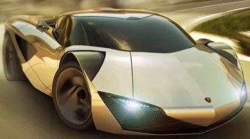 Vitola primer deportivo eléctrico Lamborghini