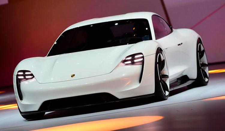 Porsche Mission E Salón de París 2016