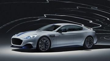 Aston Martin presenta el Rapide E