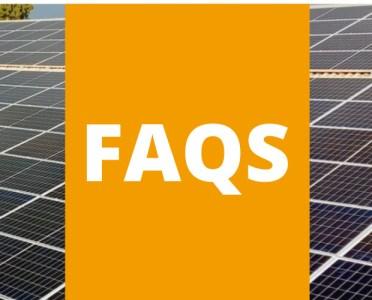 Instalación placas solares FAQS