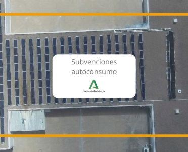 Subvenciones autoconsumo Junta Andalucía