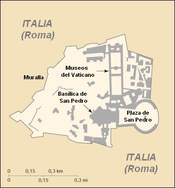 Territorio del Estado Vaticano