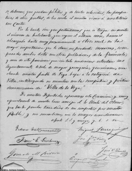 Concesión del título de Villa a Vega-Baja 4