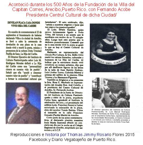 Fernando Acobe en Centro Cultural Arecibo