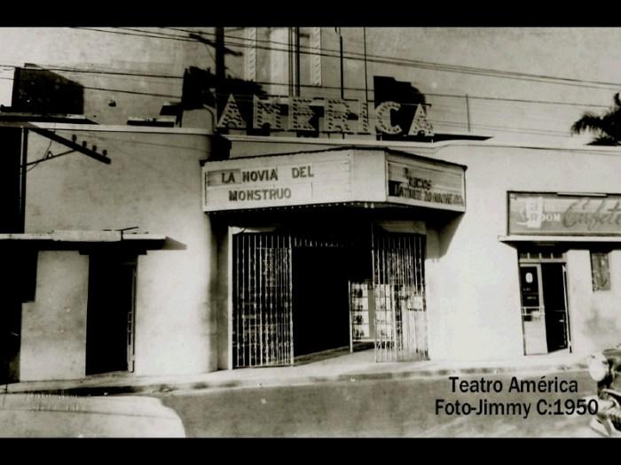 Teatro América 1950