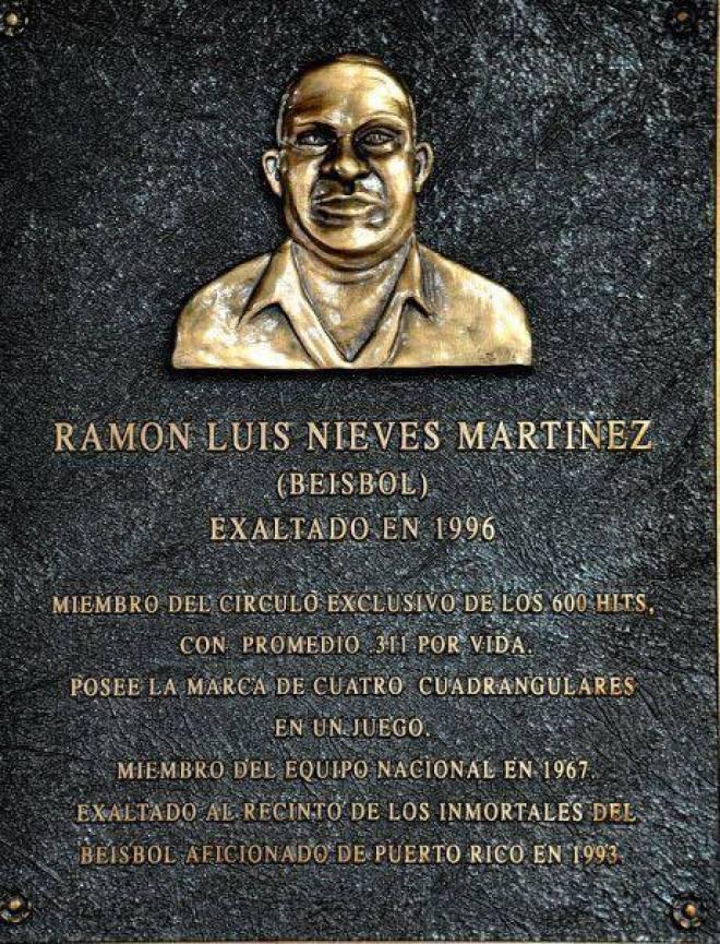 RAMON LUIS NIEVES TARJA DE 1996
