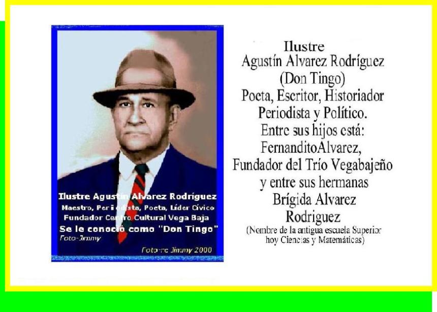 Tablero Agustín Alvarez Rodriguez