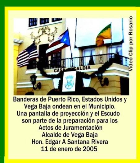 Edgar A Santana 035 Ondean Banderas en el Municipio