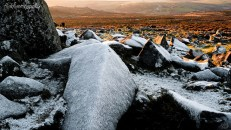 By Diddlecome Dawcock, Haytor frost, Dartmoor, https://www.flickr.com/photos/spolky/6886009870/