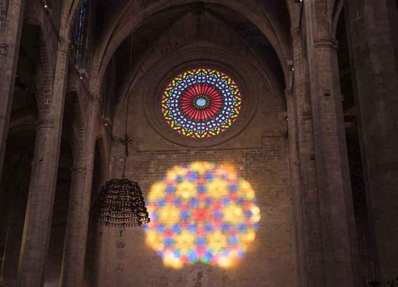 fase final del vuit de la Seu en Mallorca, España