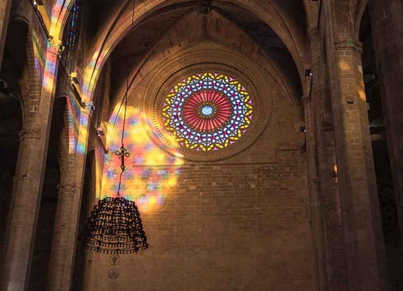 fase inicial del vuit de la Seu en Mallorca, España