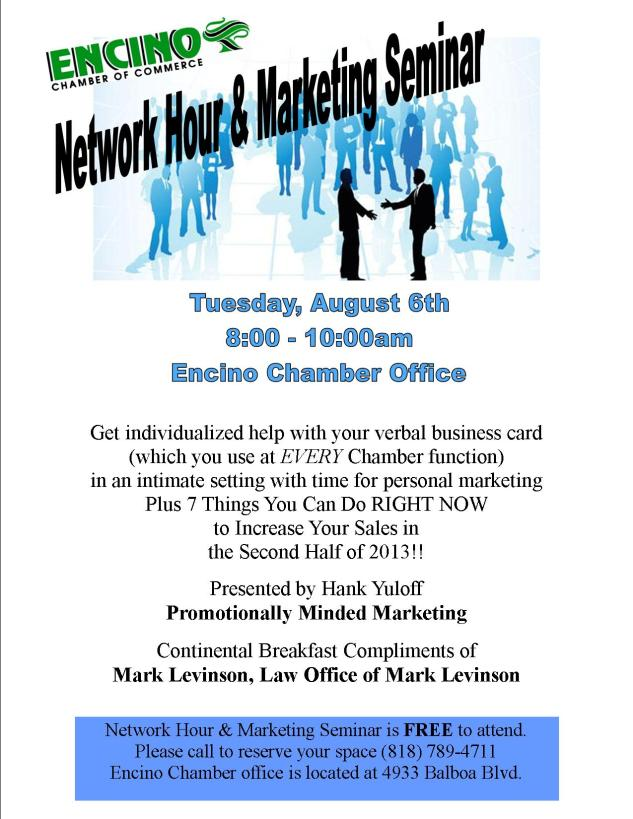 August Network Hour Flyer