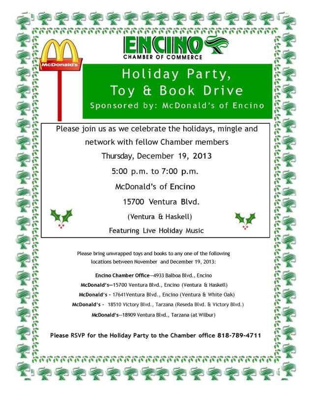2013 McDonald's Holiday Party