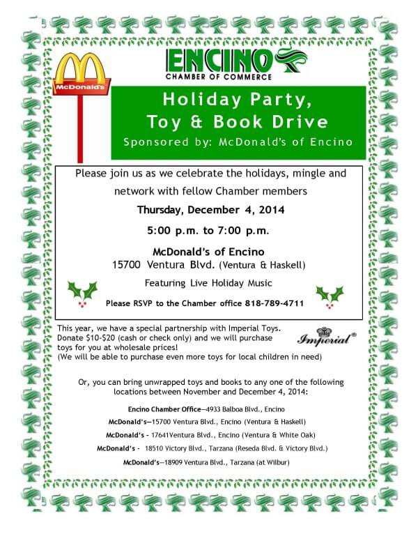 UPDATED-2014 McDonald's Holiday Party flyer