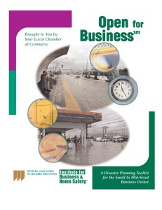 Open for business cover